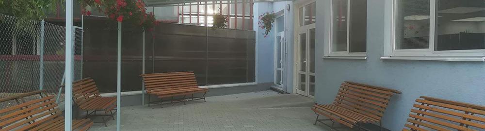 Domov sociálnych služieb pre dospelých v Hornom Bare - Terasa